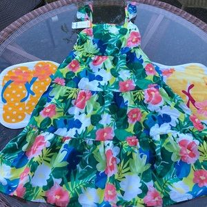 Gymboree Girls floral dress size 10. NWT Gorgeous!